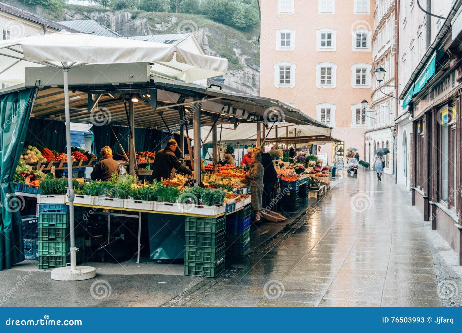 Αγορά τροφίμων οδών