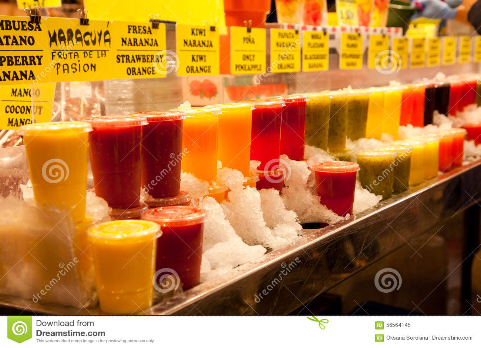 Download Αγορά τροφίμων στη Βαρκελώνη Στοκ Εικόνα - εικόνα από snack, αγοραστές: 56564145