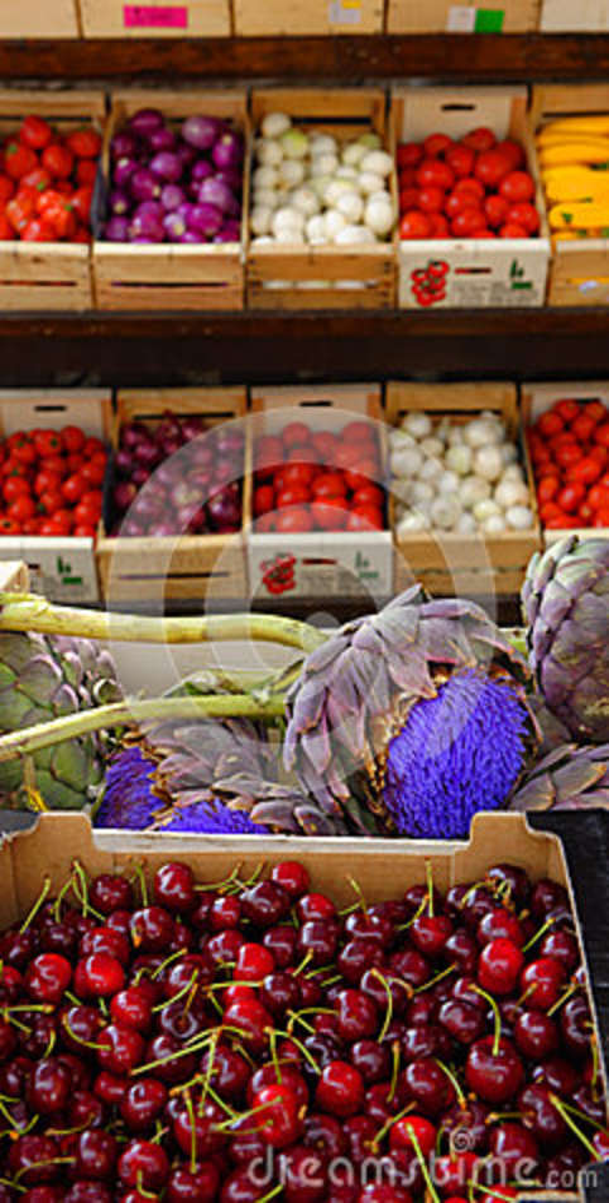 Αγορά φρέσκων προϊόντων, Προβηγκία