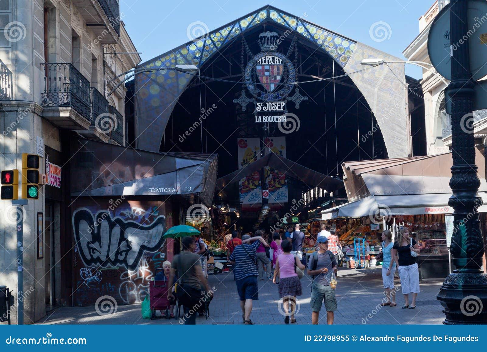 αγορά rambla Άγιος της Βαρκελώνης Joseph