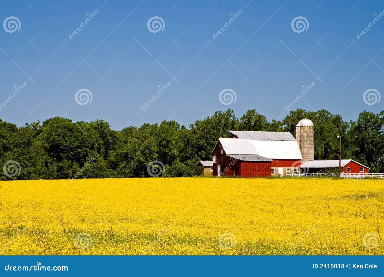 αγροτική άνοιξη χωρών