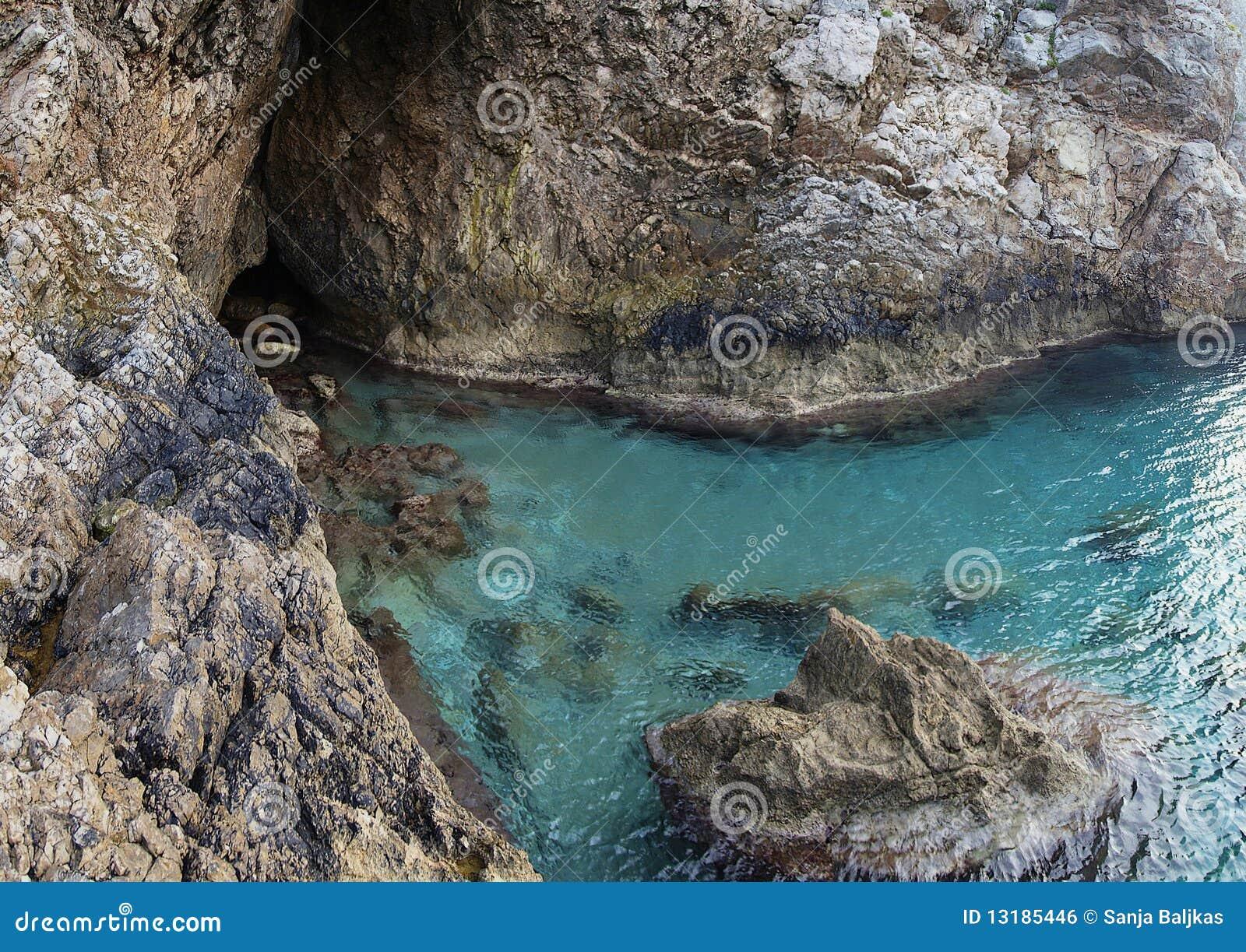 αδριατική θάλασσα σπηλιώ&n