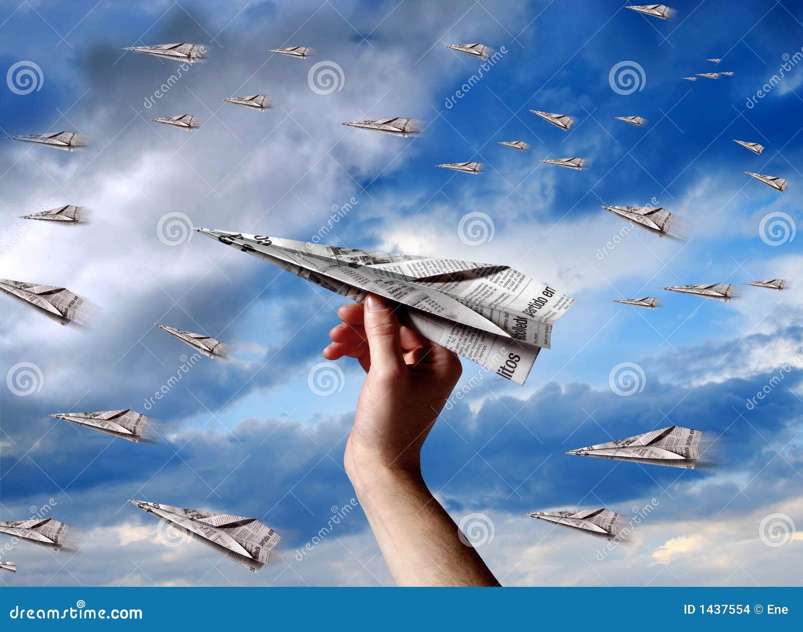 αεροπλάνο εγγράφου