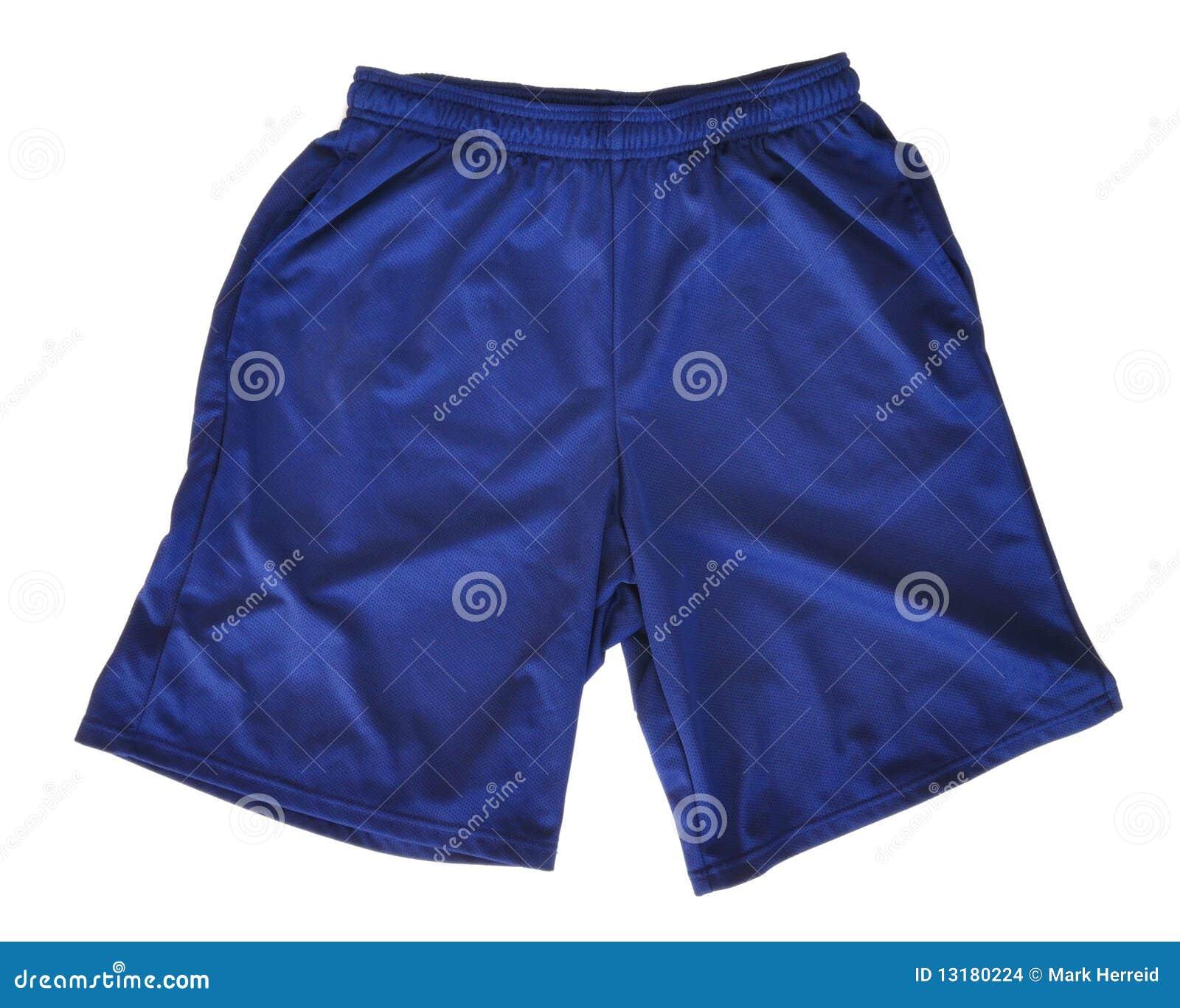 αθλητικά μπλε σορτς