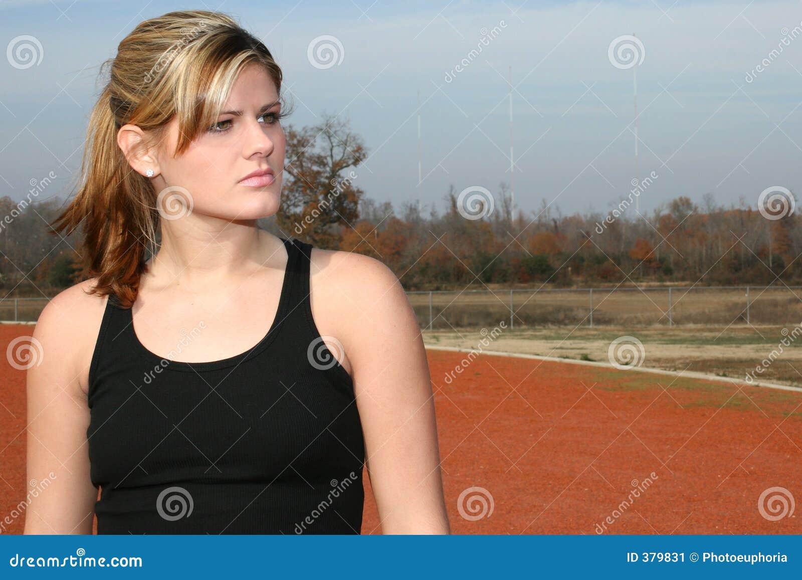 αθλητικές νεολαίες γυναικών διαδρομής