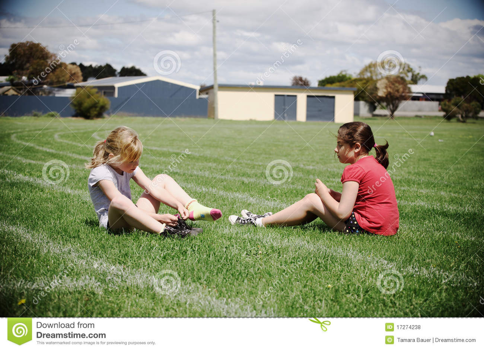 αθλητισμός κοριτσιών πεδ