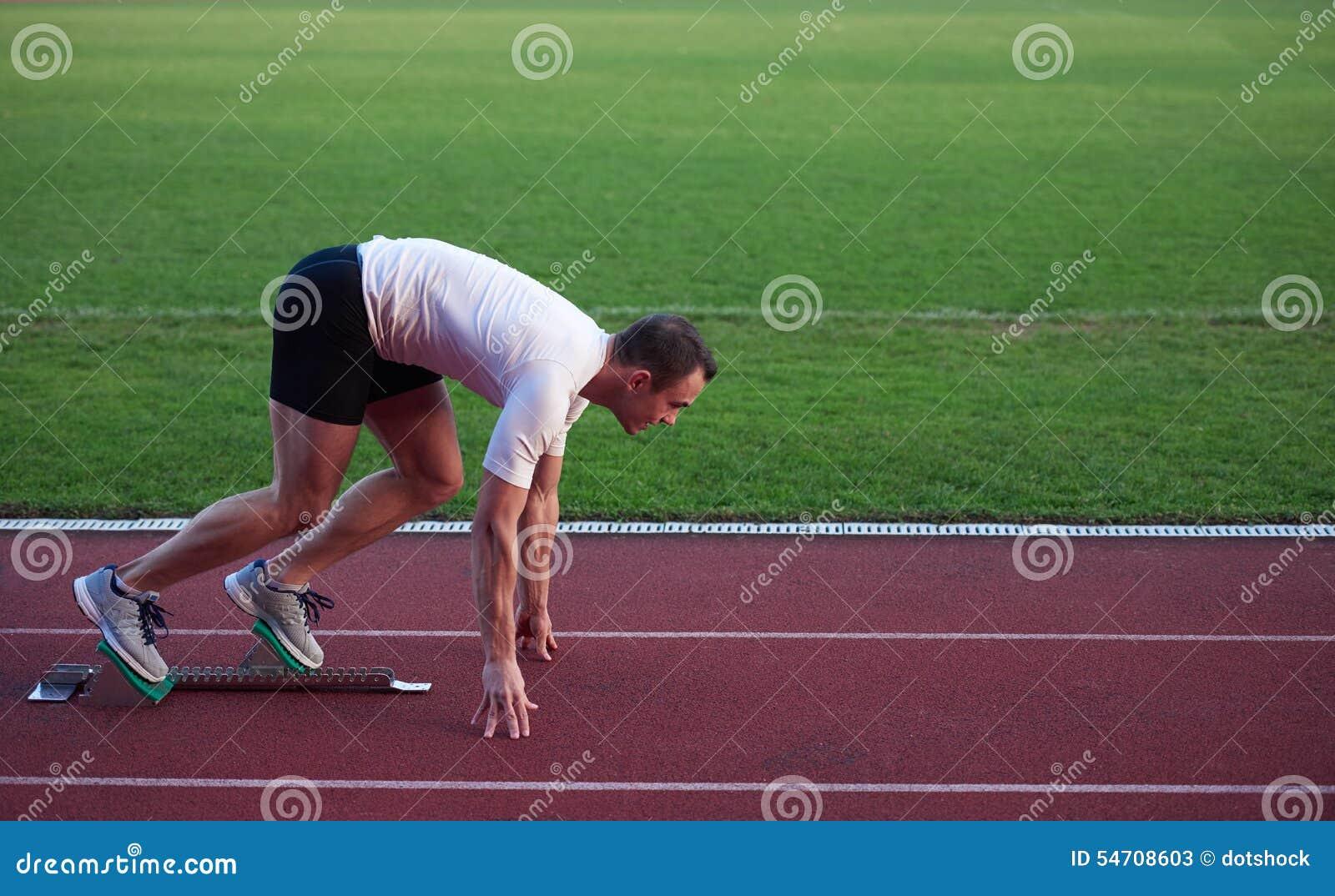 Αθλητική έναρξη ατόμων
