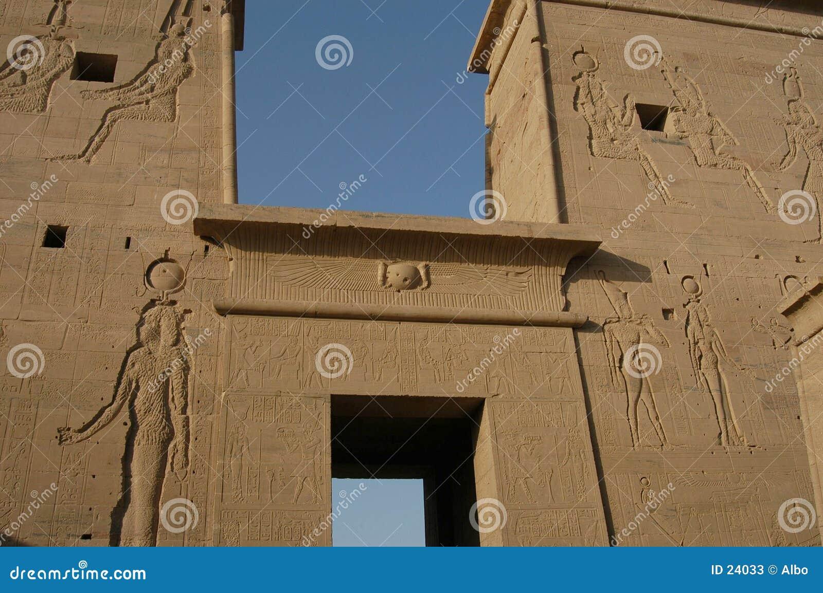 αιγυπτιακός ναός