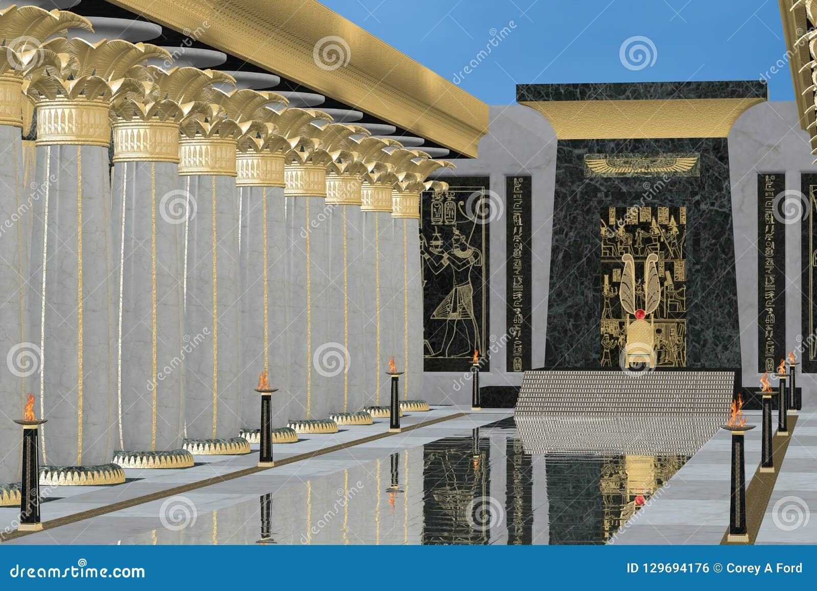 Αιγυπτιακό δωμάτιο θρόνων