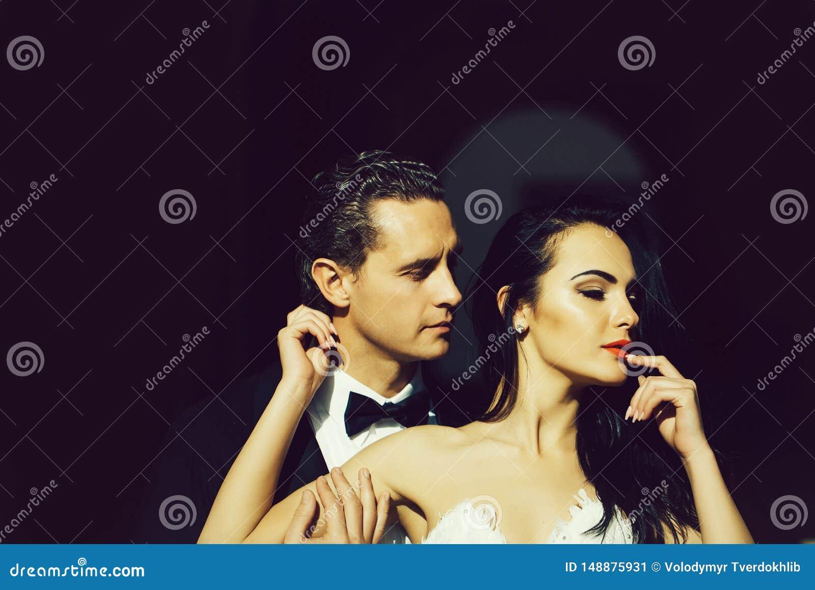 Αισθησιακοί νύφη και νεόνυμφος