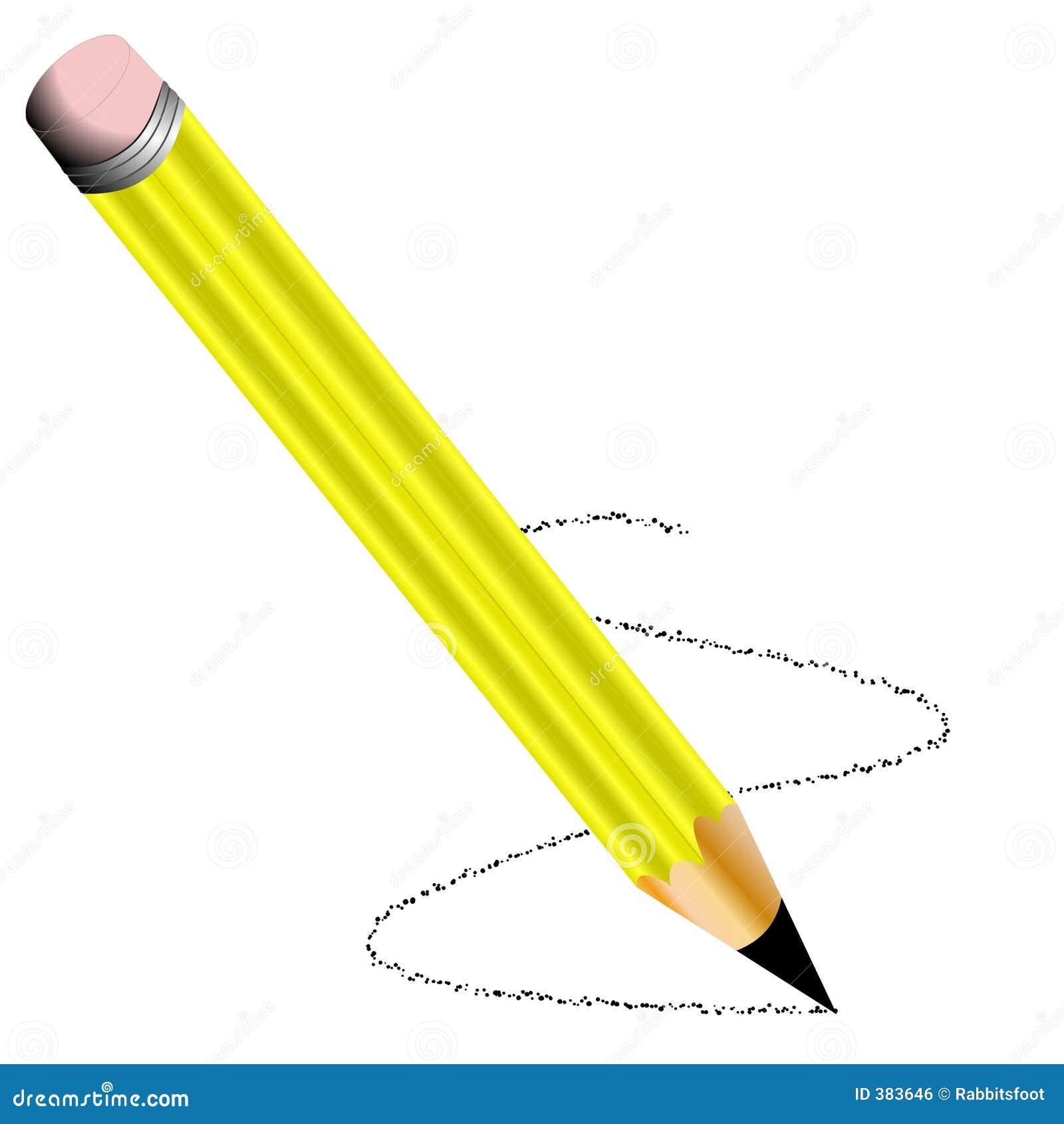 αιχμηρός κίτρινος μολυβι