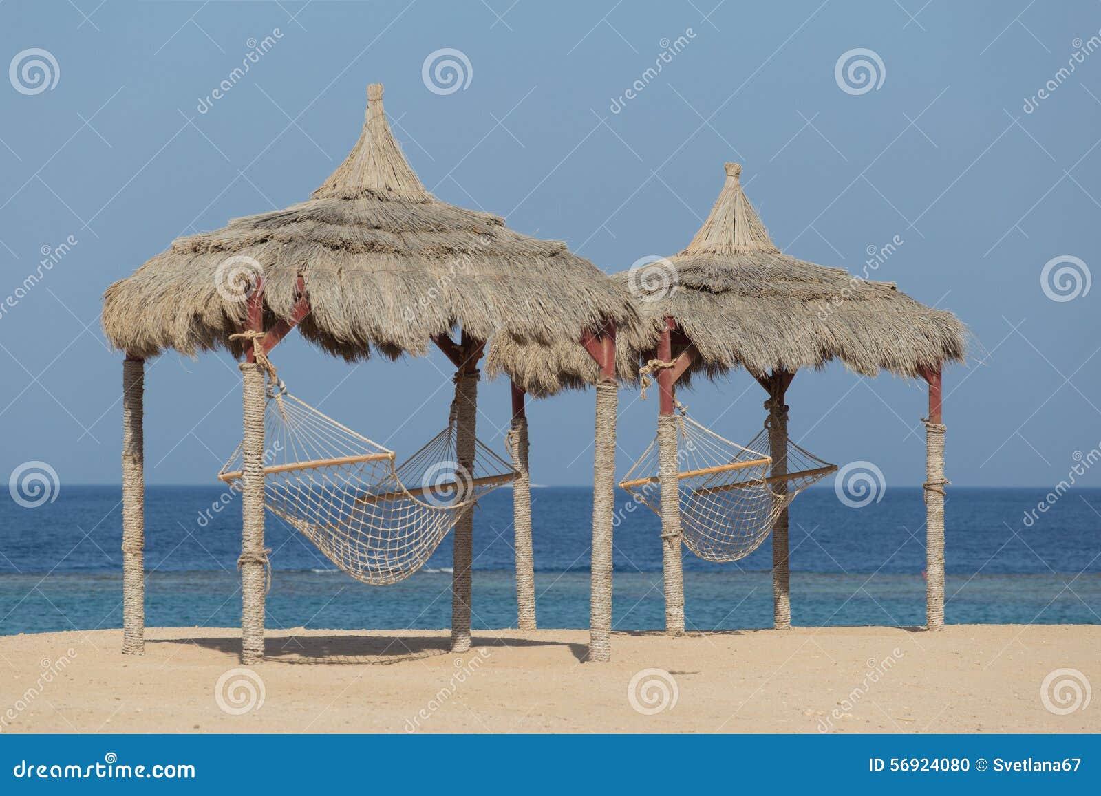Αιώρα σε μια παραλία Ερυθρών Θαλασσών