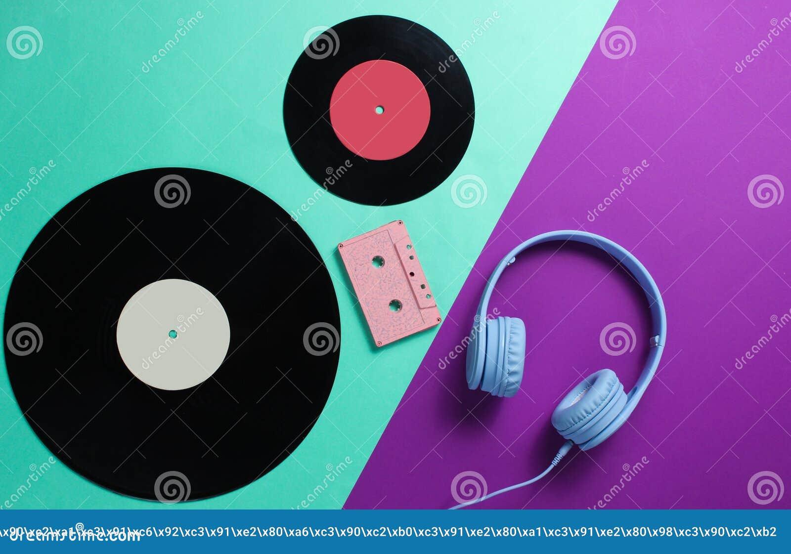 Ακουστικά, ακουστική κασέτα, lp αρχεία
