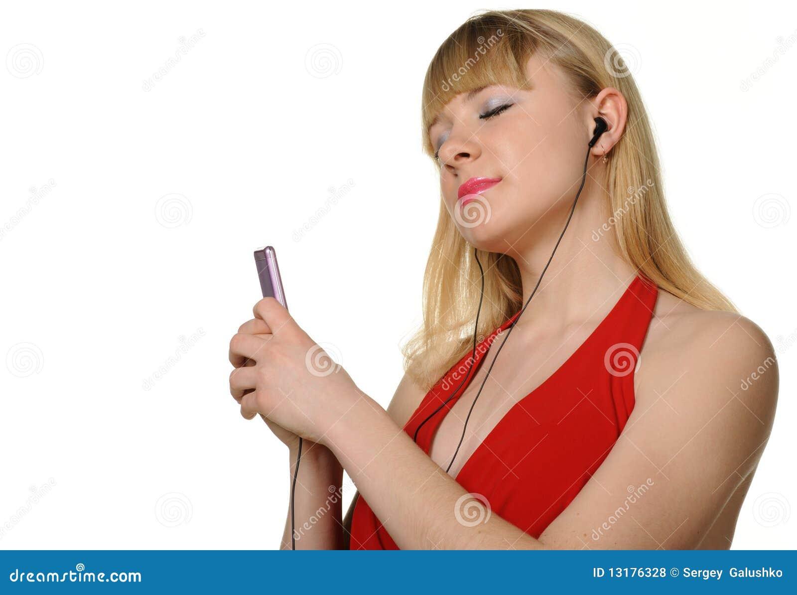 ακούει φορέας μουσικής &t