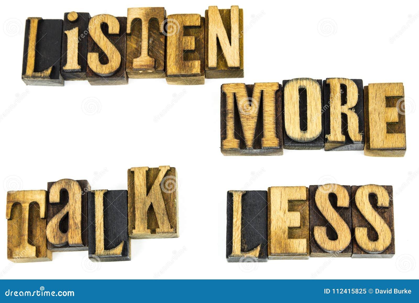 Ακούστε περισσότερη συζήτηση λιγότερο κίνητρο