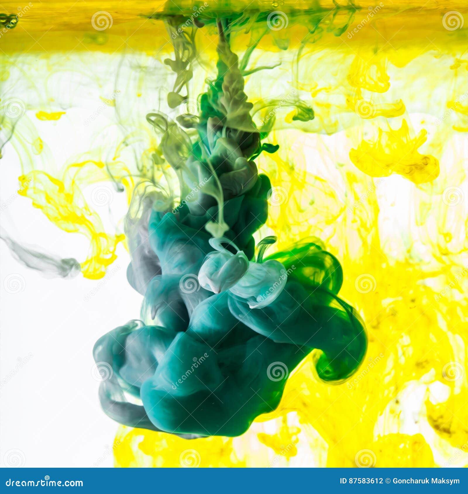 Ακρυλικά χρώματα Μελάνια στο νερό