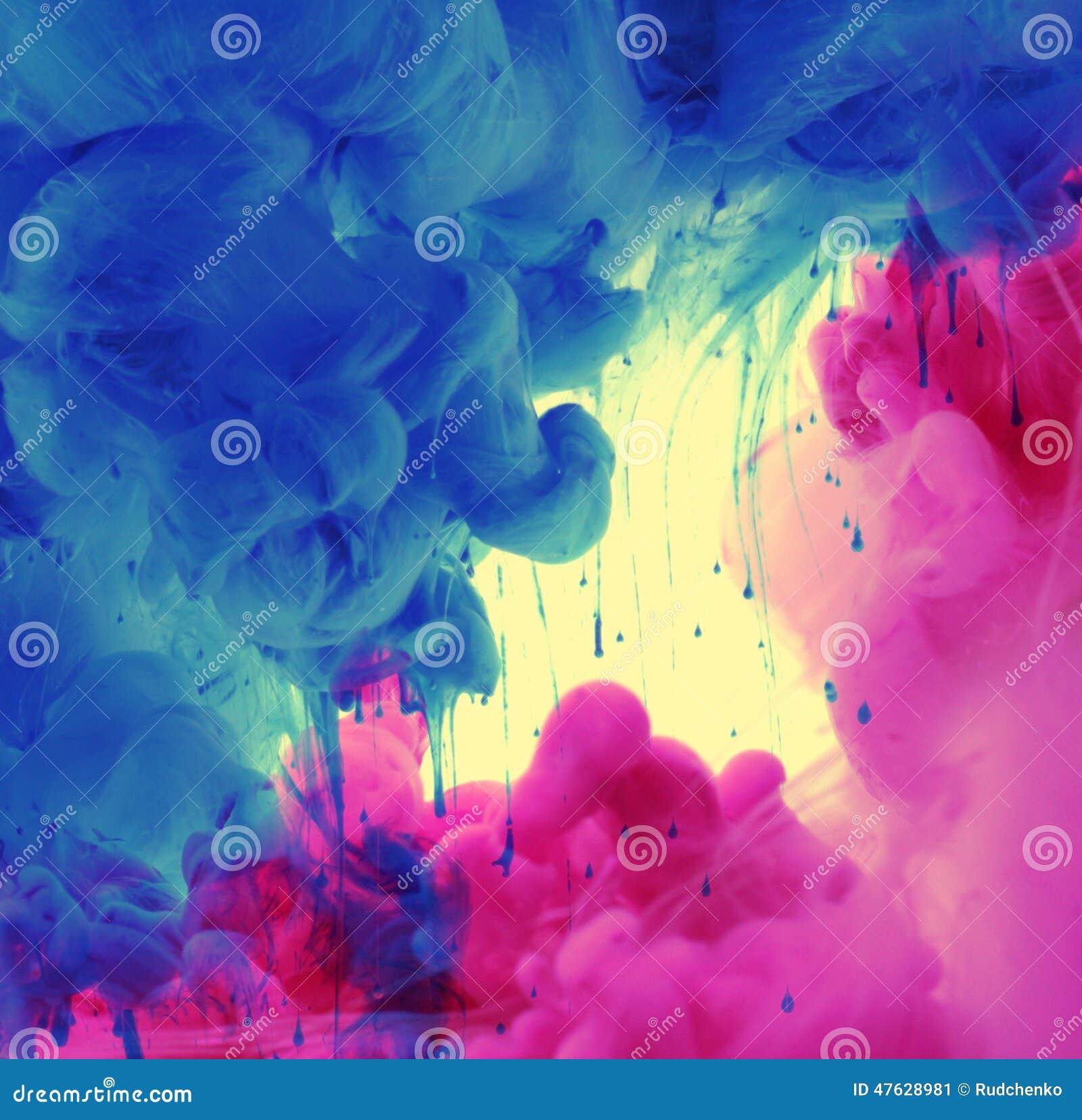 Ακρυλικά χρώματα στο νερό