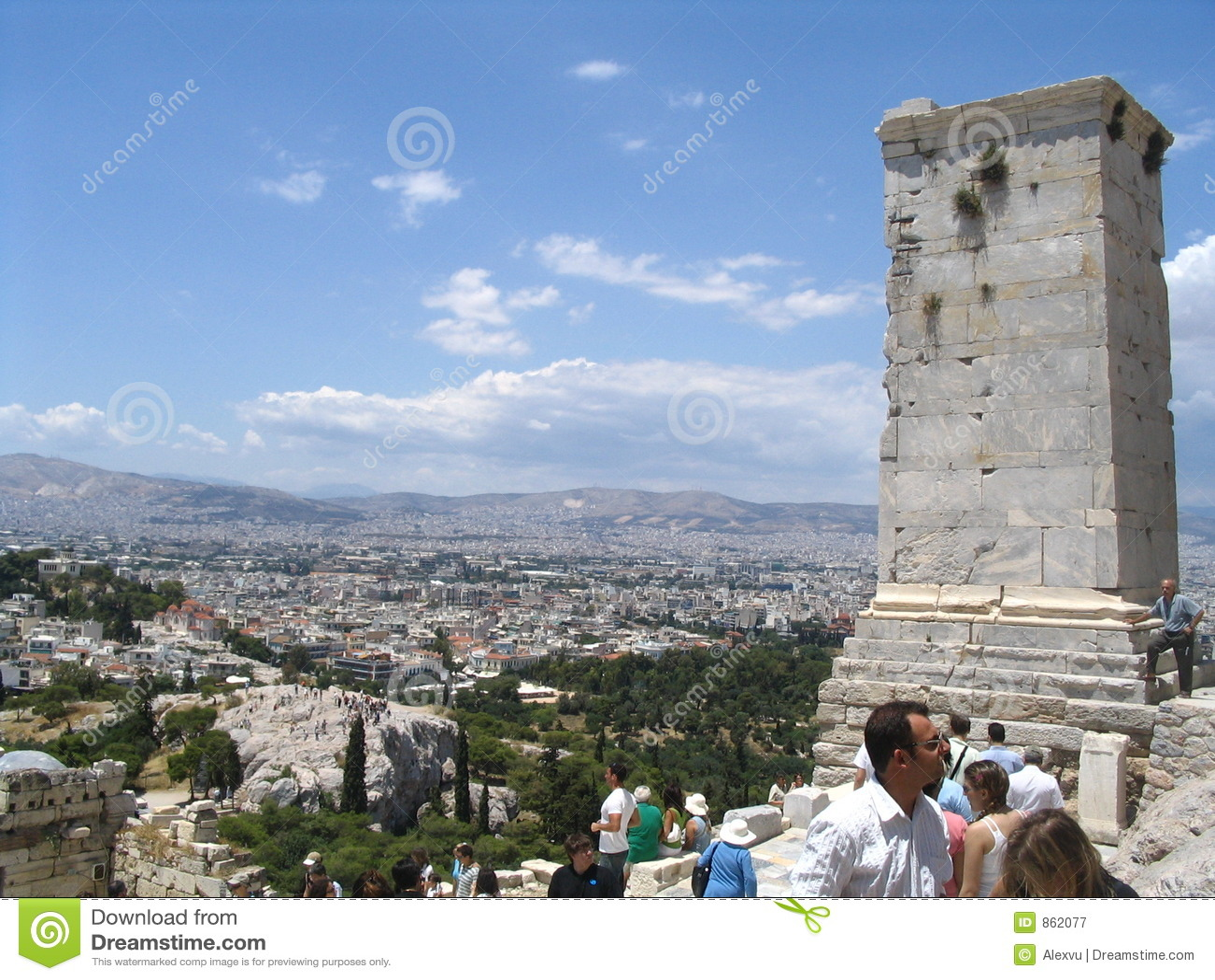 ακρόπολη Αθήνα Ελλάδα parthenon