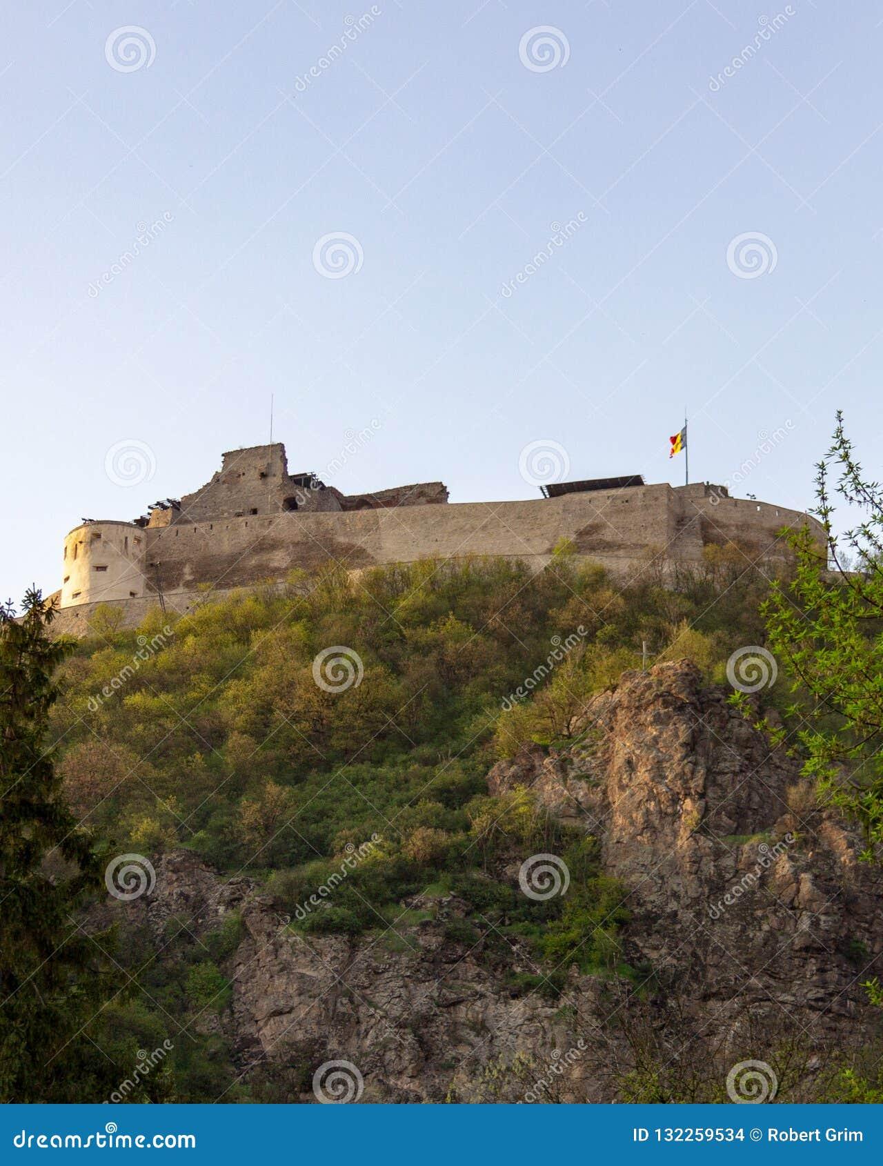 Ακρόπολη Deva στην Τρανσυλβανία, Ρουμανία