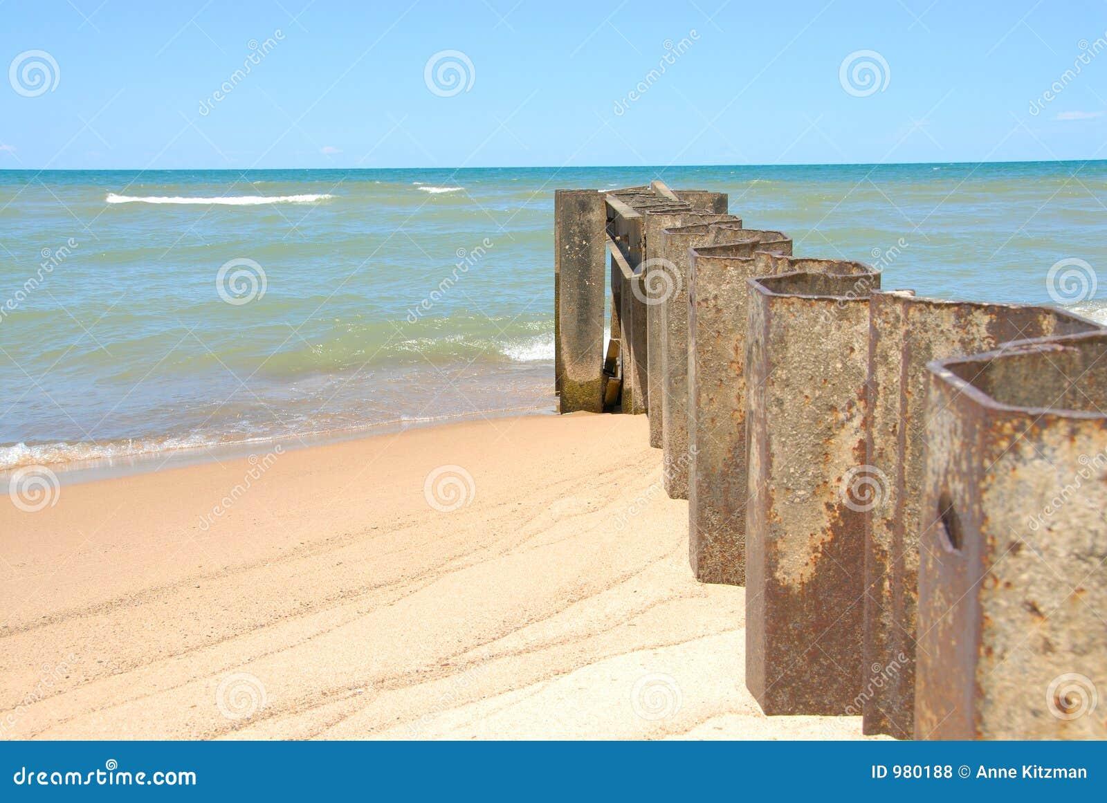 ακτή του Μίτσιγκαν λιμνών διακοπτών