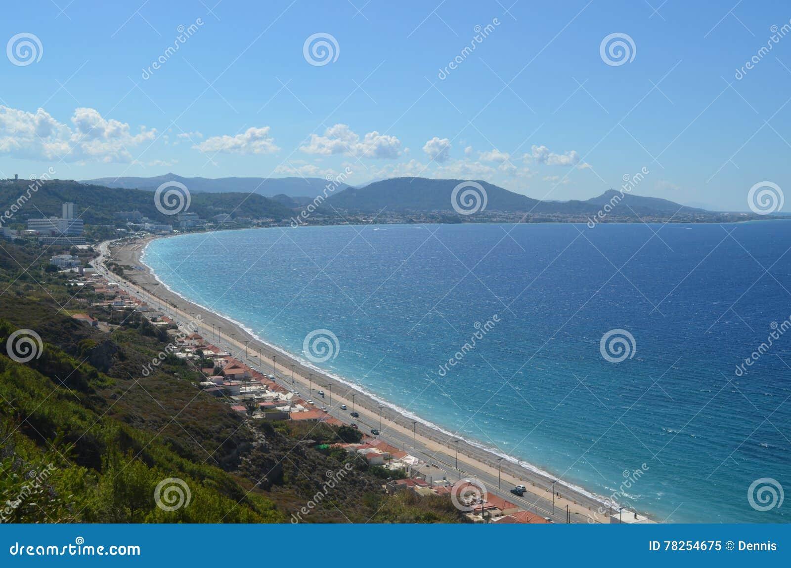Ακτή του νησιού της Ρόδου
