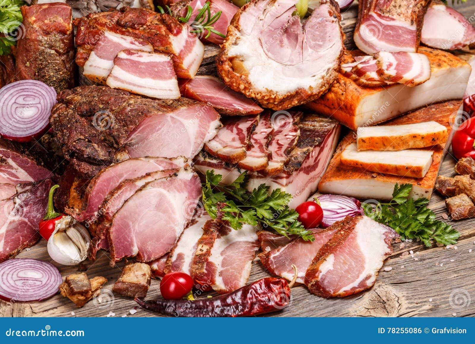 Ακόμα ζωή των προϊόντων κρέατος