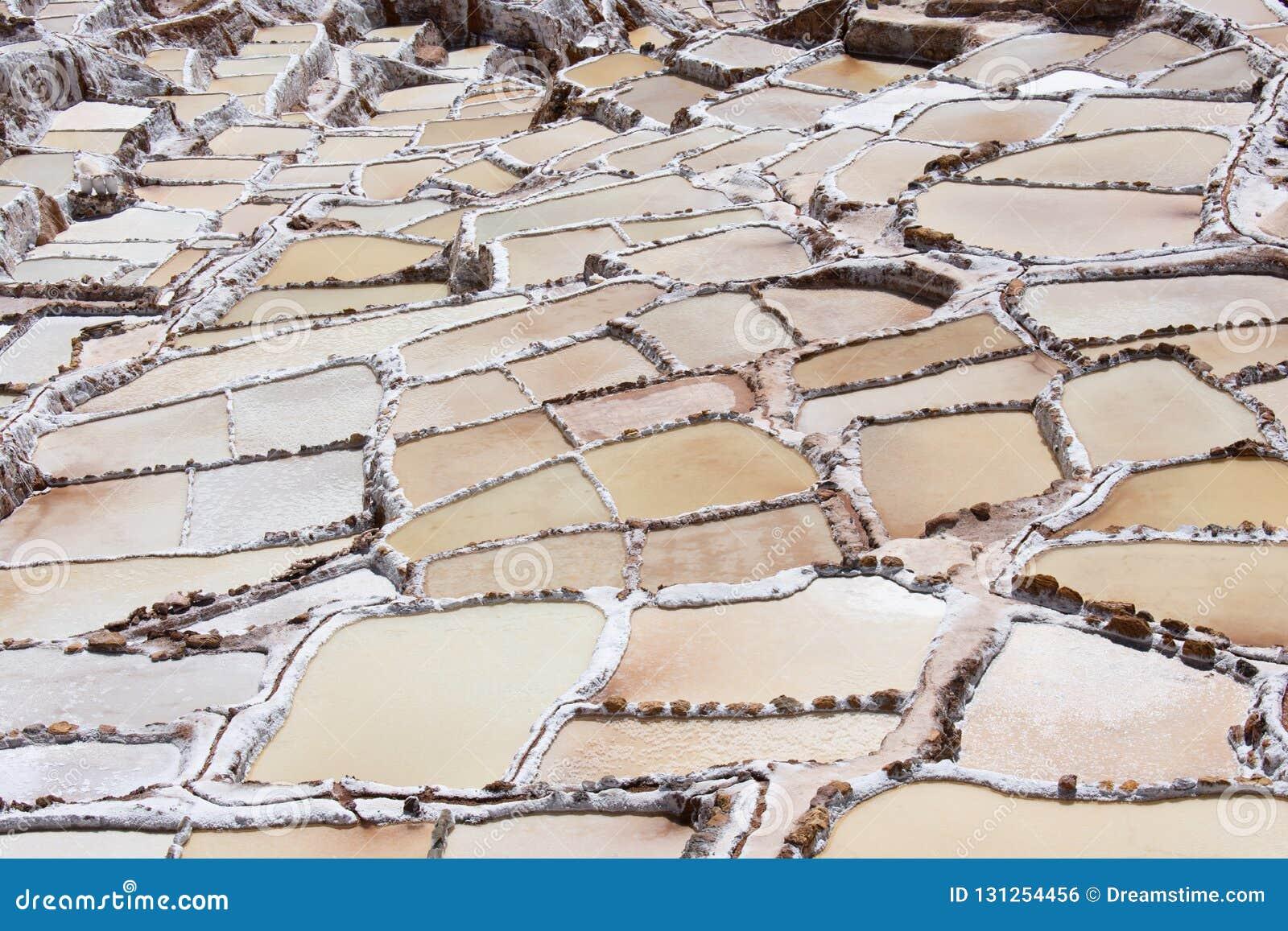 Αλατισμένα ορυχεία στην ιερή κοιλάδα του Incas