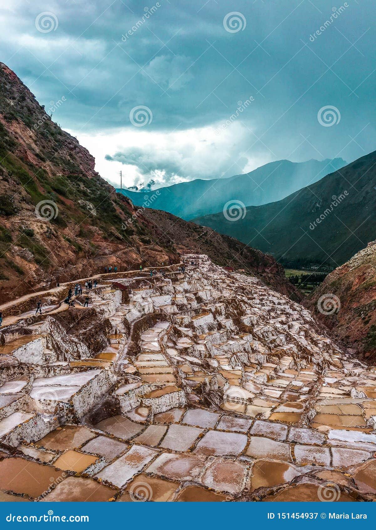 Αλατισμένα τηγάνια Maras, στο Περού