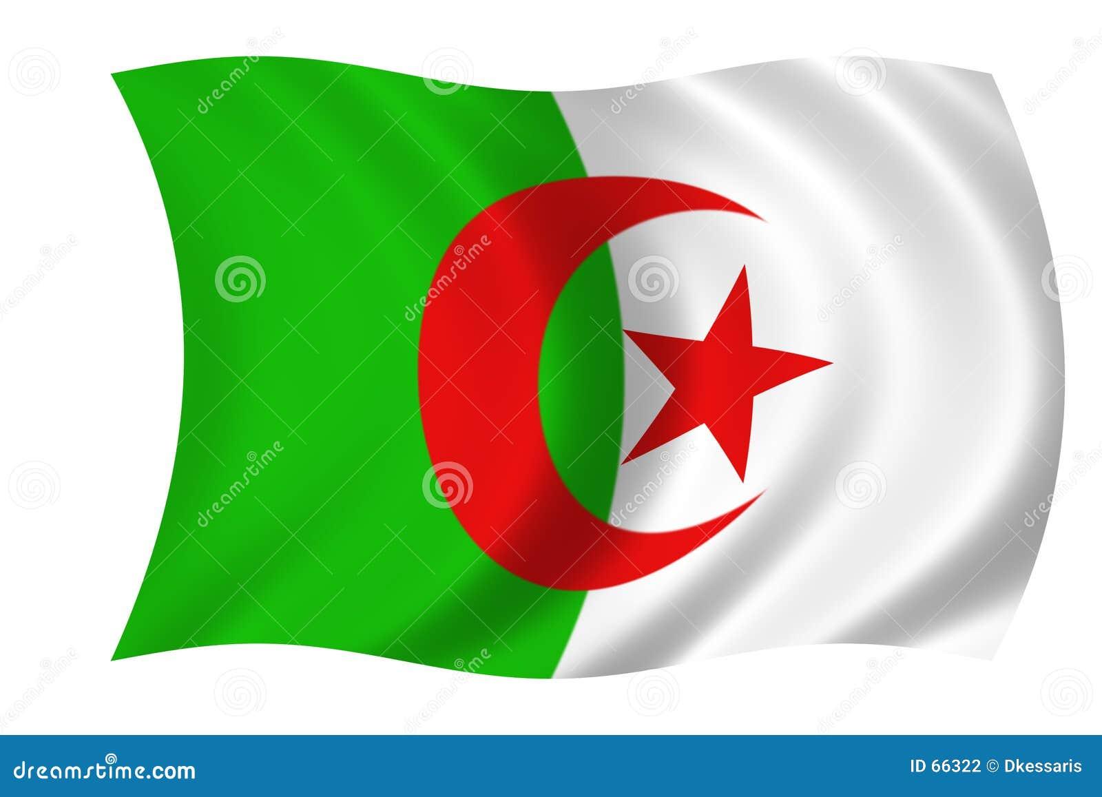 αλγερινή σημαία