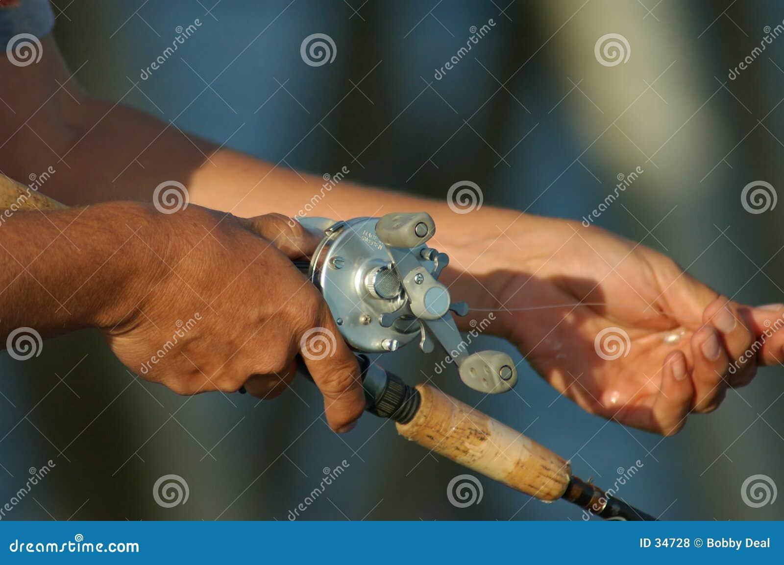 αλιεία των χεριών