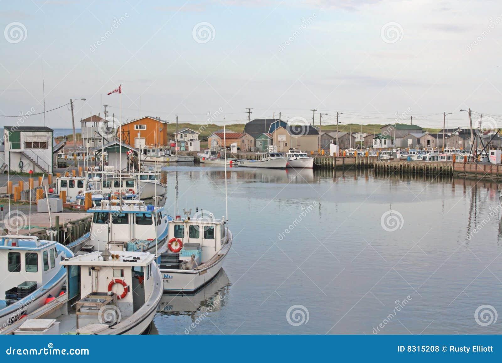 αλιεύοντας λιμάνι