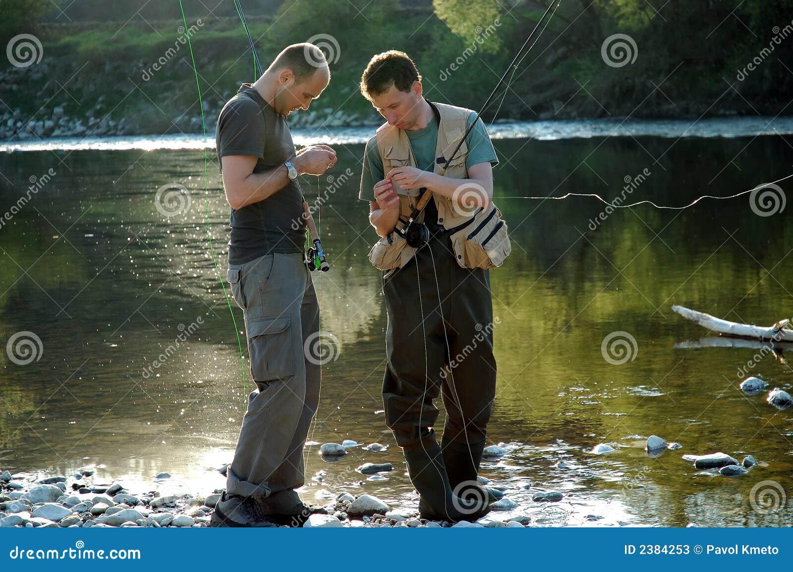 αλιεύοντας μύγα
