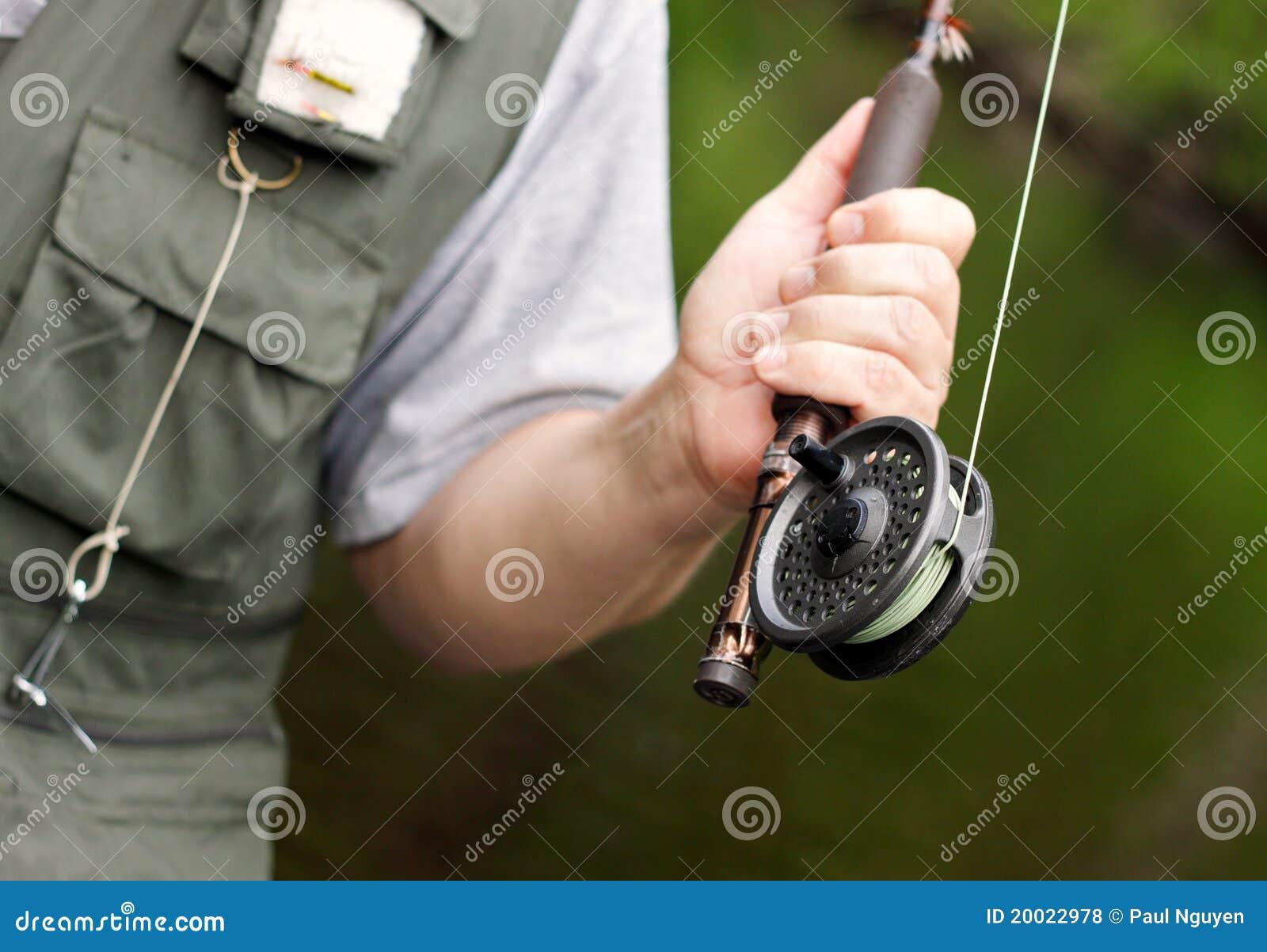 αλιεύοντας ράβδος εξε&lambd