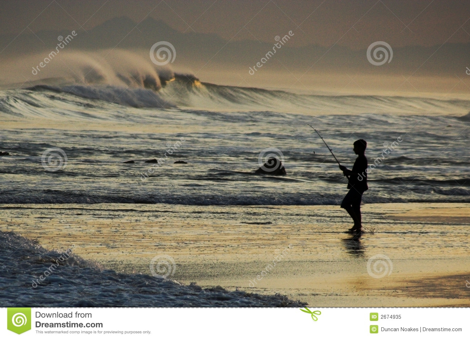 αλιεύοντας ωκεανός