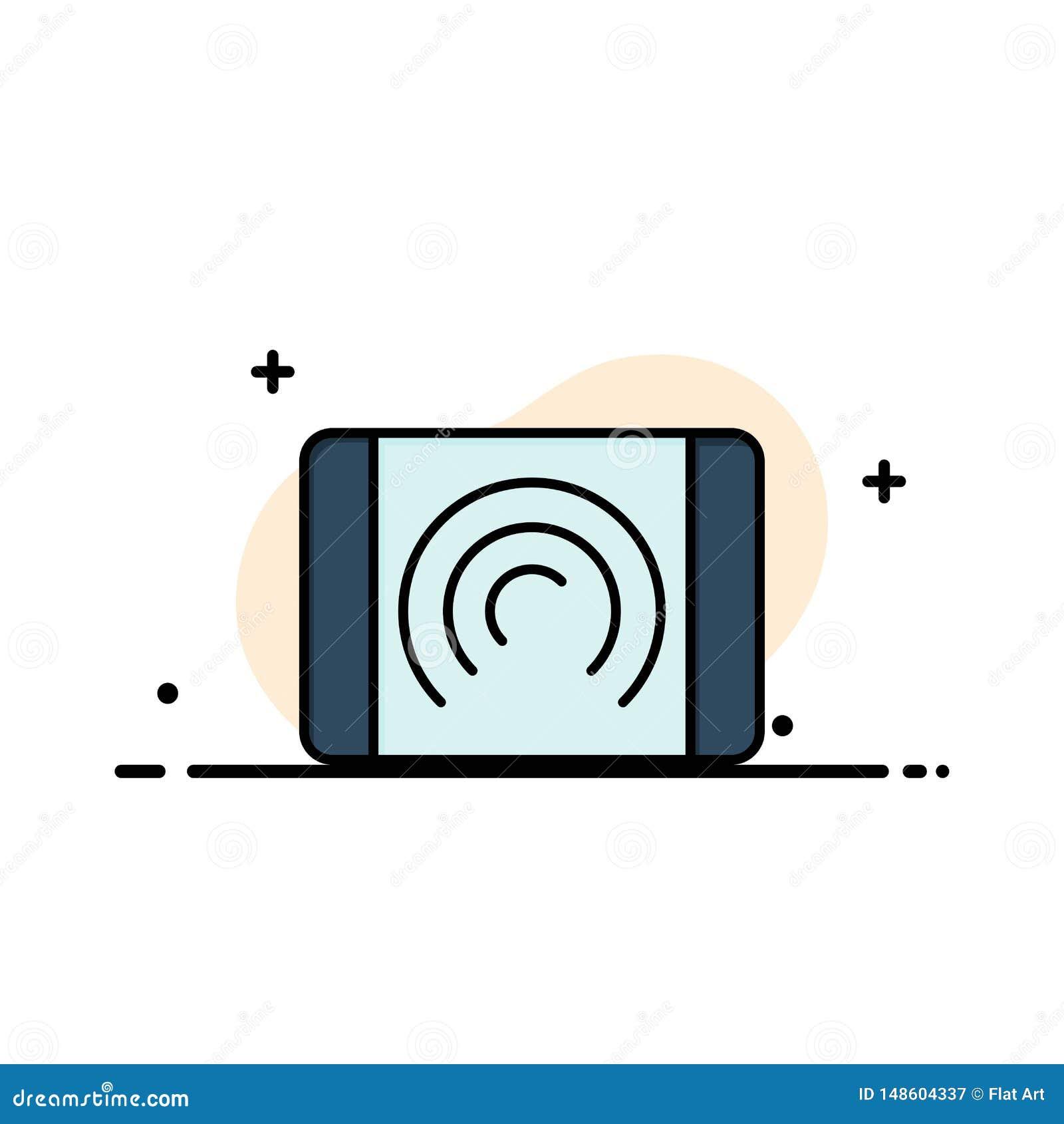 Αλληλεπίδραση, χρήστης, αφή, πρότυπο επιχειρησιακών λογότυπων διεπαφών Επίπεδο χρώμα