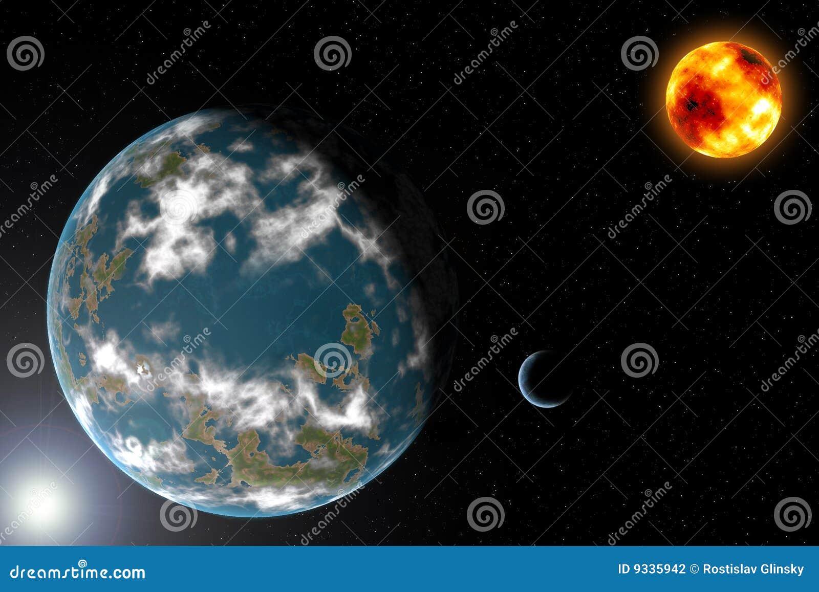 αλλοδαπό ηλιακό σύστημα