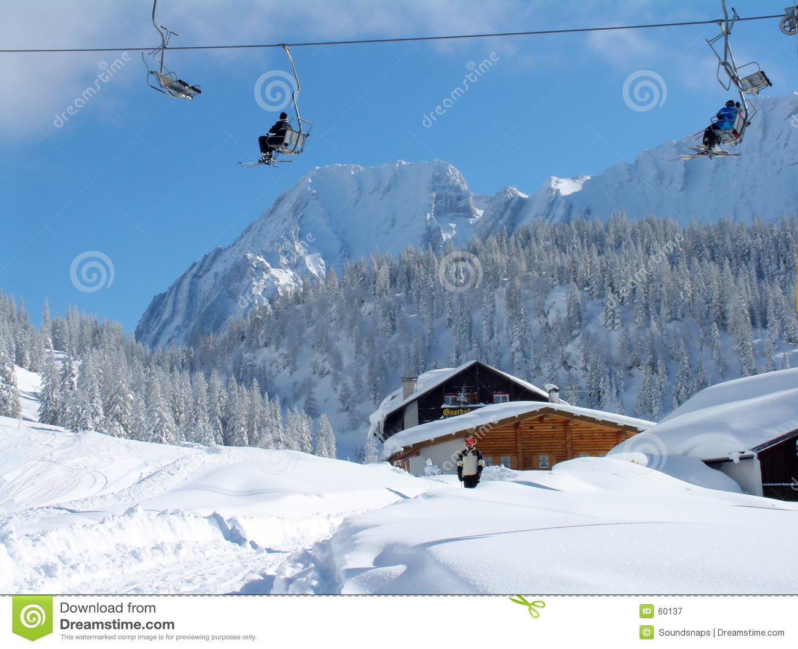αλπικό σκι ανελκυστήρων