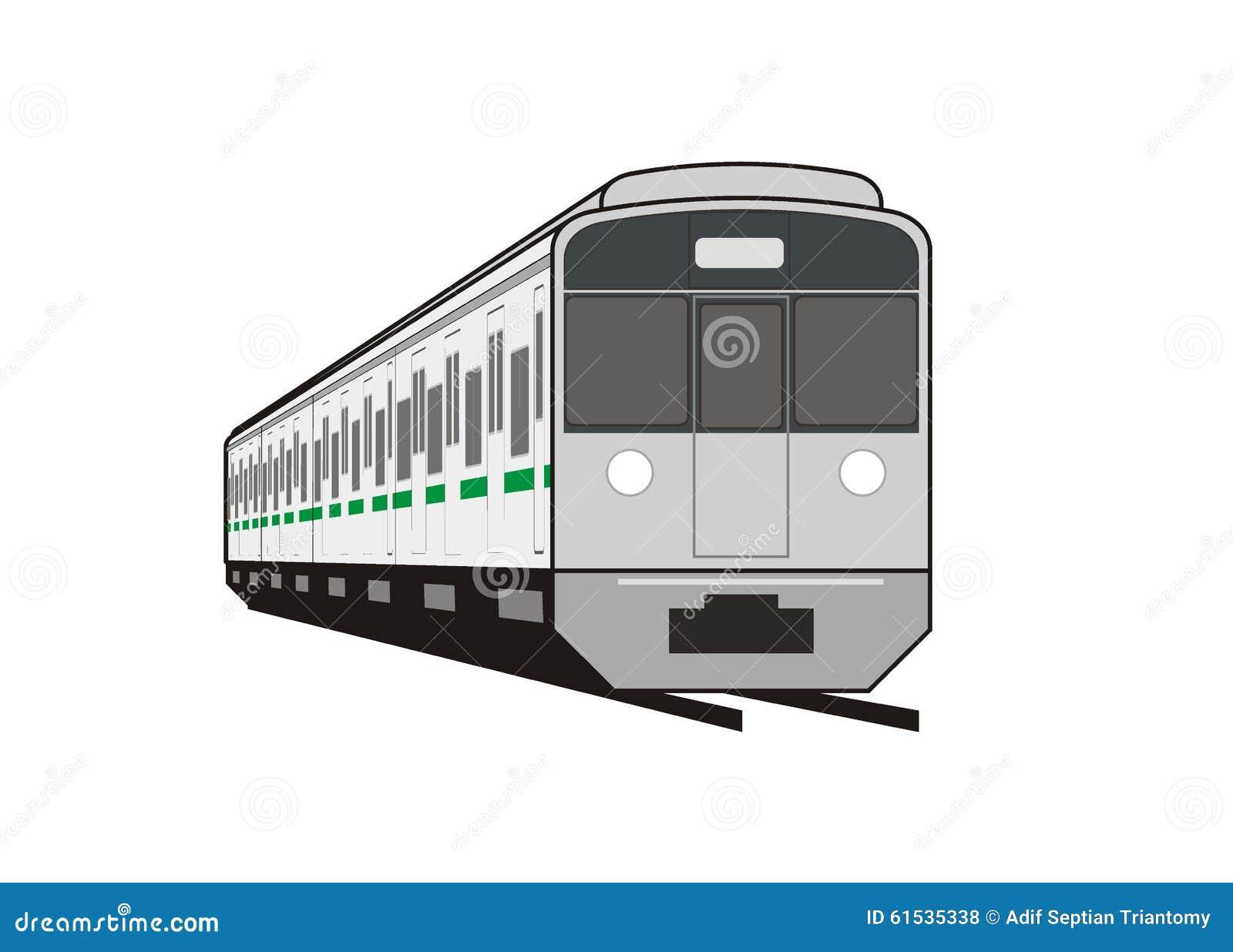 Αμαξοστοιχία περιφερειακού σιδηροδρόμου στην προοπτική