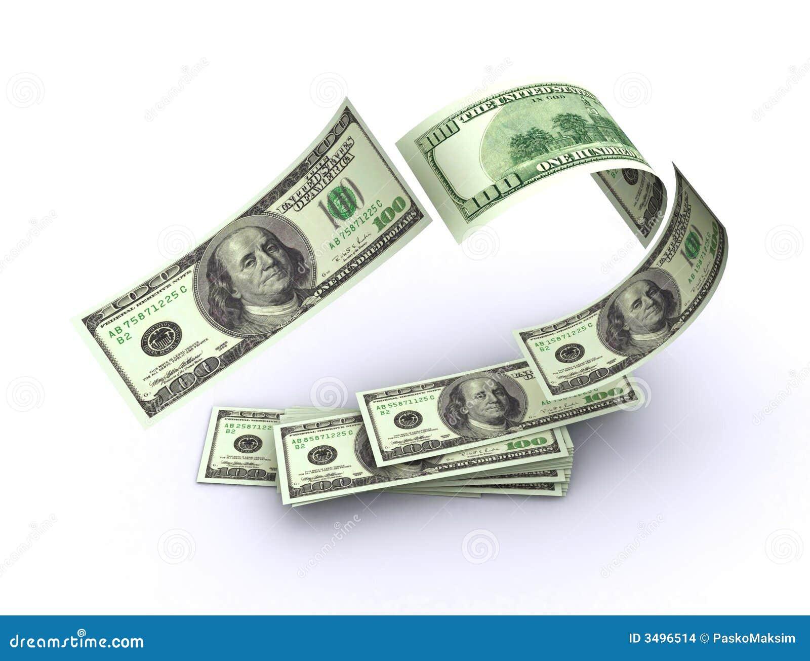 αμερικανικά πετώντας χρήμα