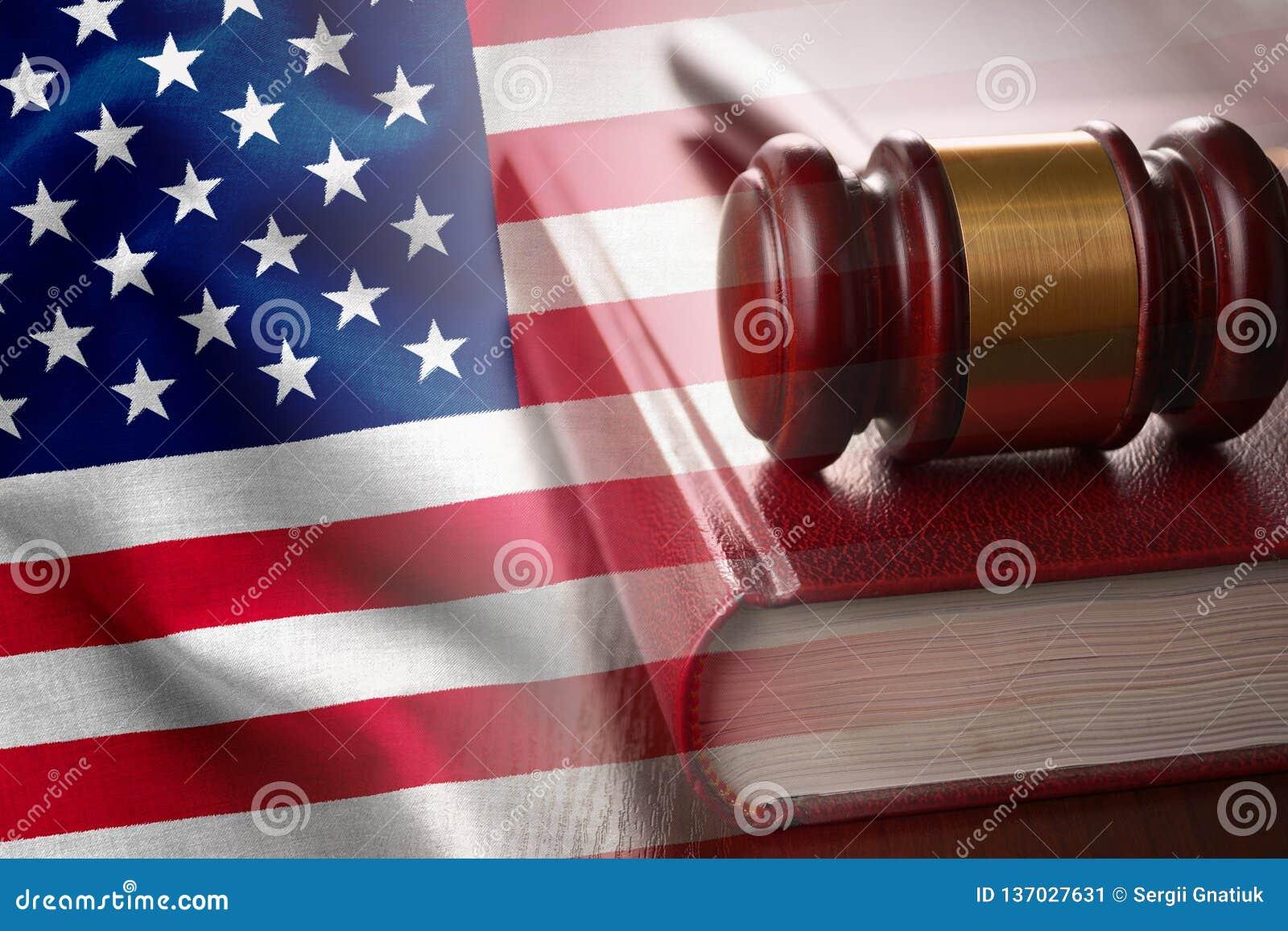 Αμερικανική δικαιοσύνη και δικαστική έννοια