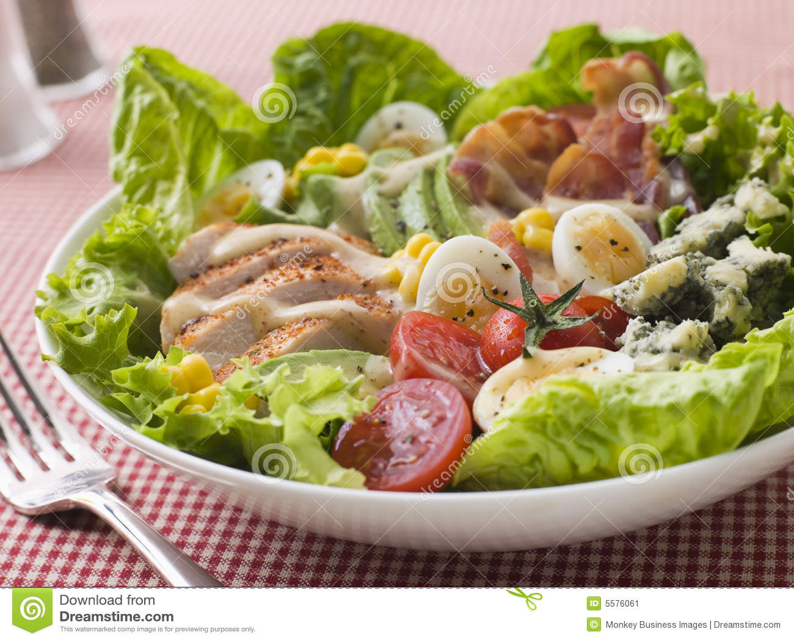 αμερικανική σαλάτα cobb