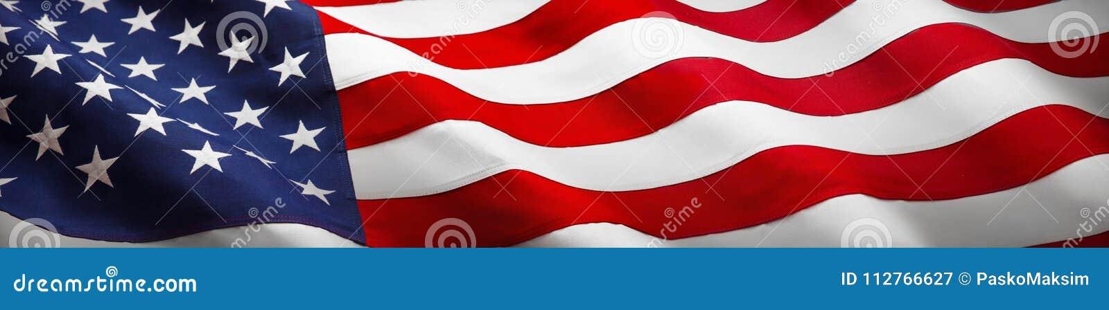 Αμερικανική σημαία κυμάτων