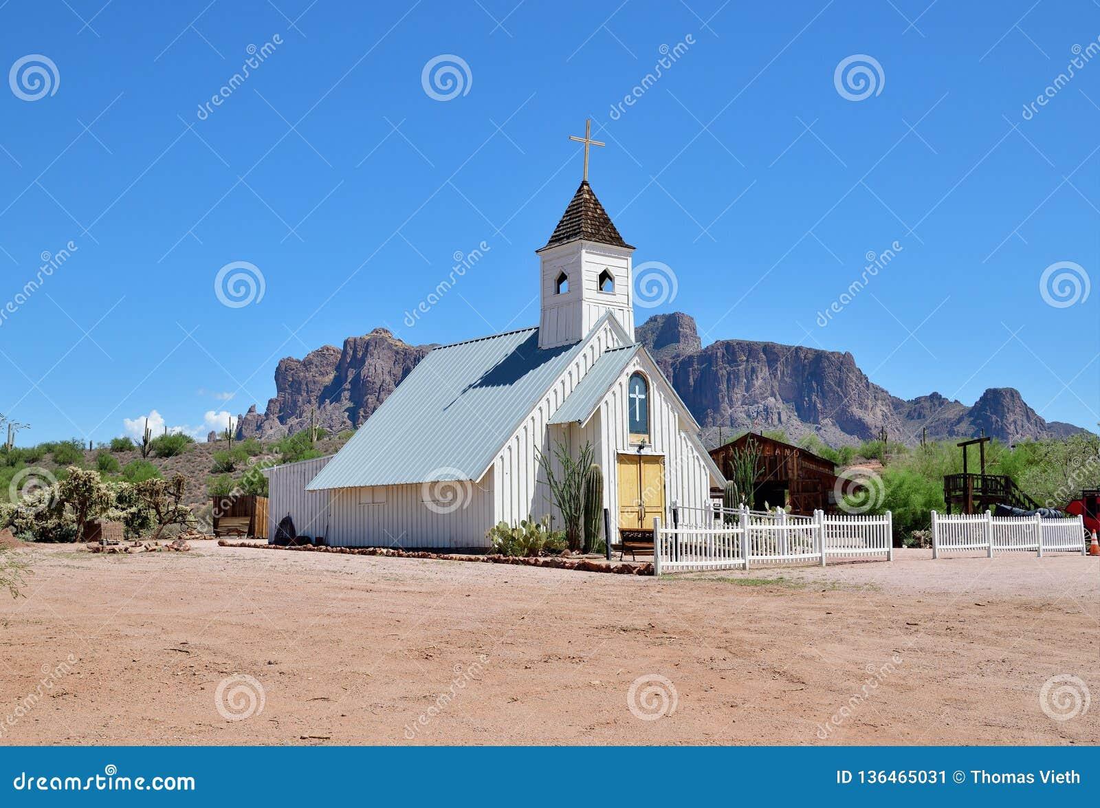 ΑΜΕΡΙΚΑΝΙΚΗ, Αριζόνα/Apache σύνδεση: Μουσείο βουνών δεισιδαιμονίας - γαμήλιο παρεκκλησι
