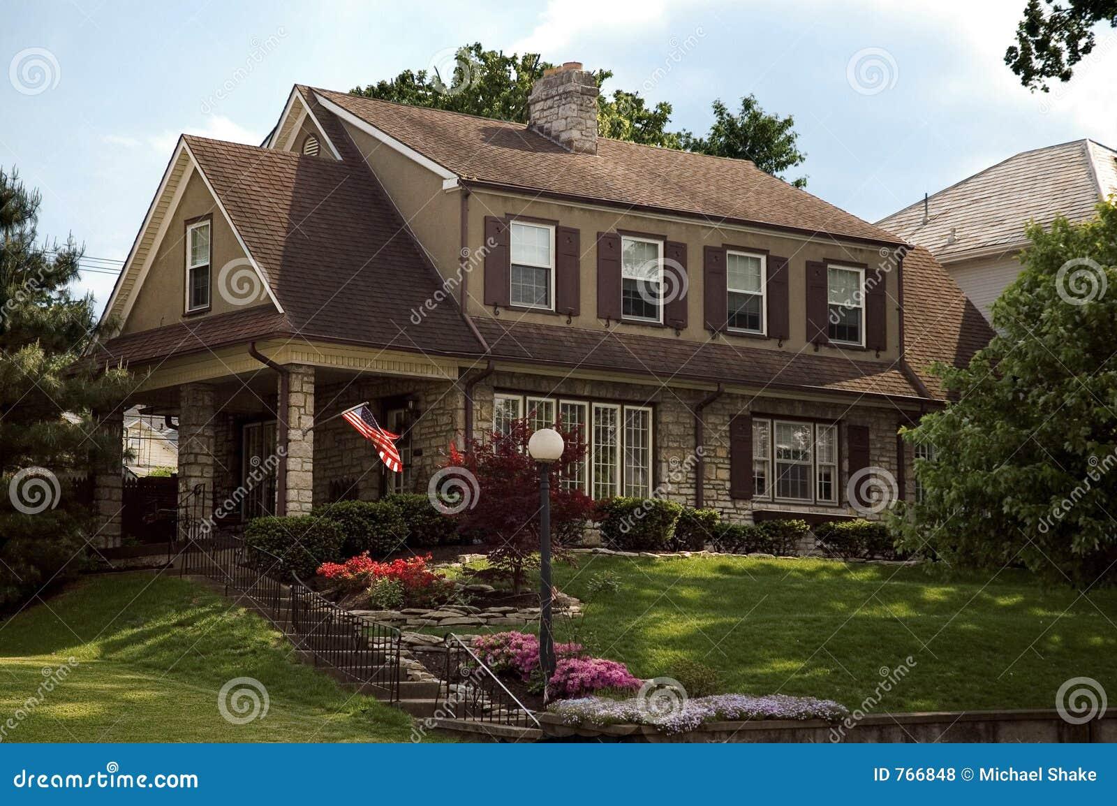 αμερικανικό σπίτι