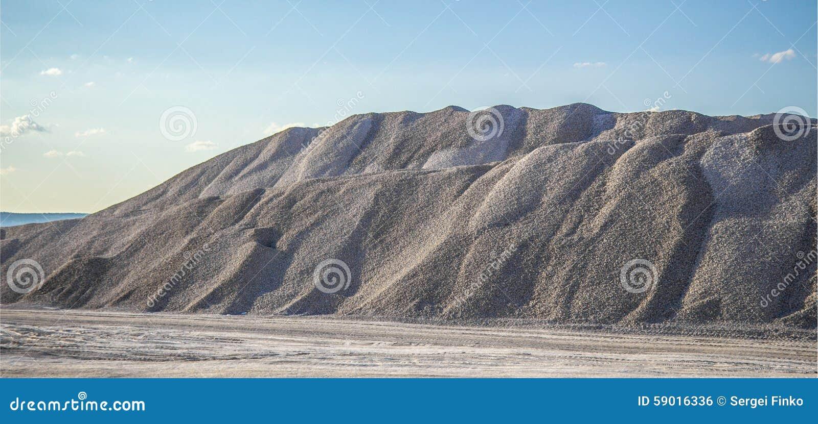 Αμμοχάλικο βουνών
