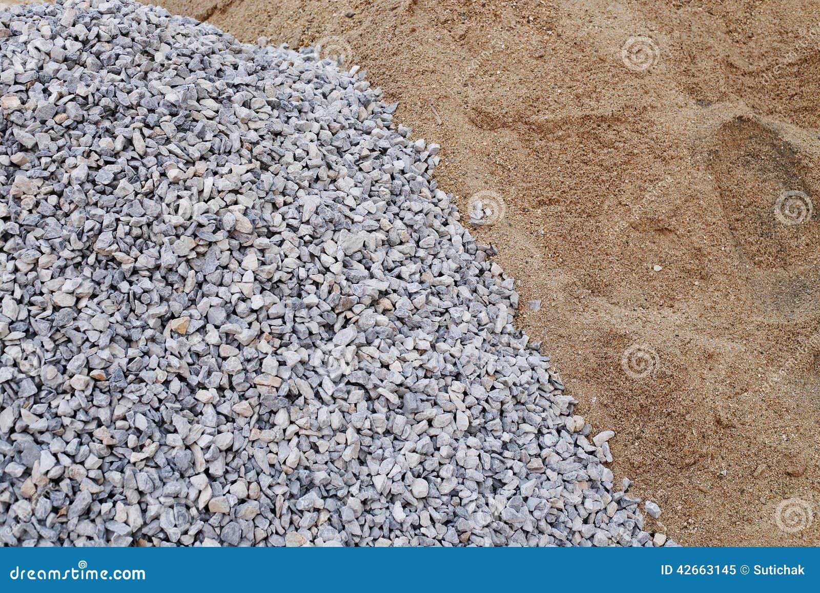 Αμμοχάλικο και άμμος σωρών
