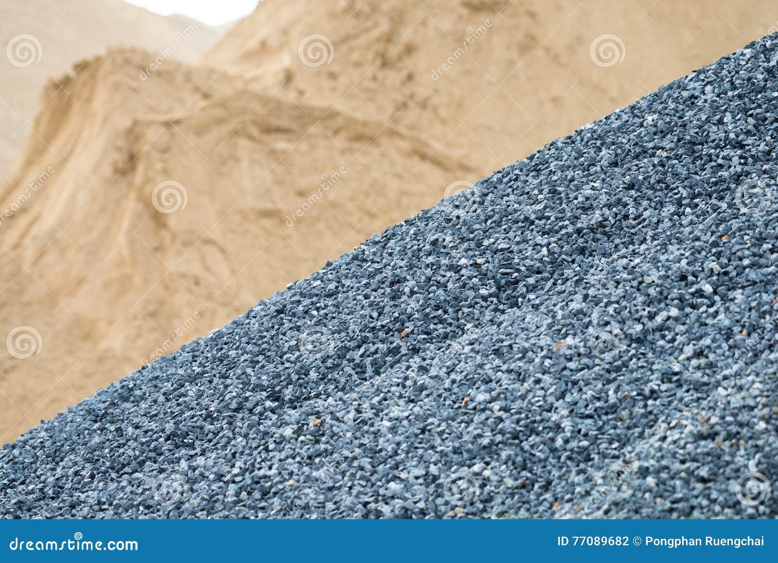 Αμμοχάλικο και άμμος