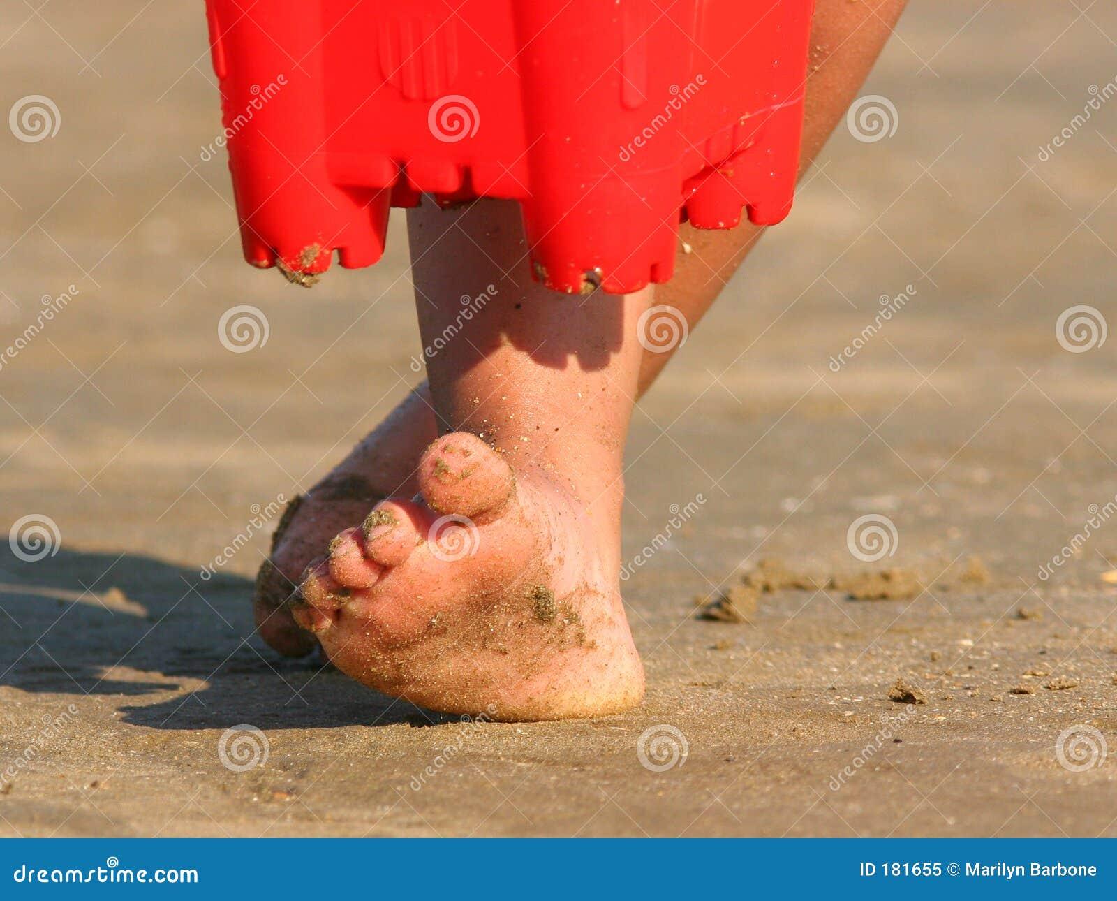 αμμώδη toe