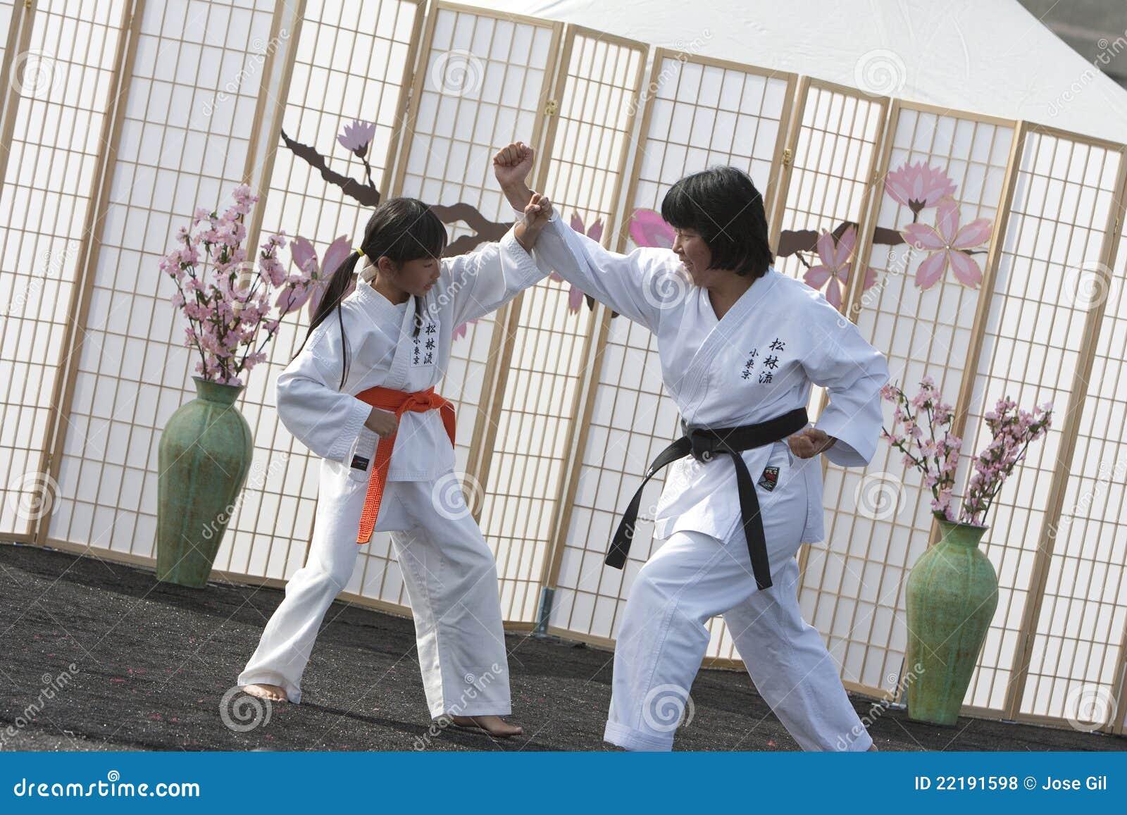 αμυντικό karate μόνο