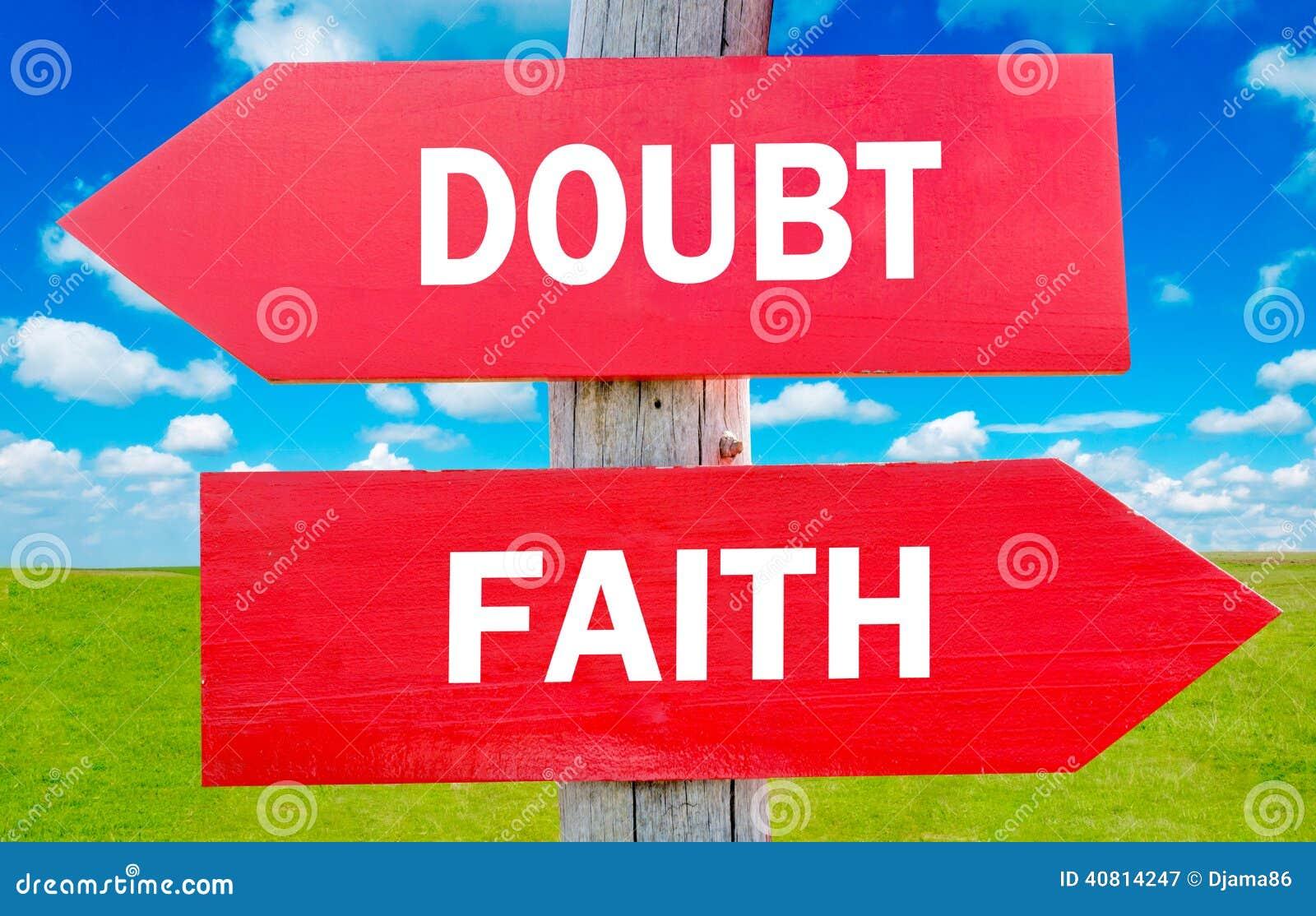 Αμφιβολία ή πίστη